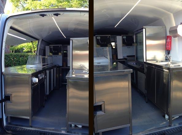 Mobile food truck interior design for Food truck interior design