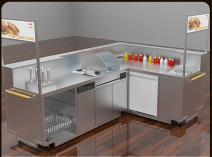Hot Digity Dog Food Cart