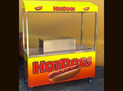 Hot Dog Cart Wet'n'Wild