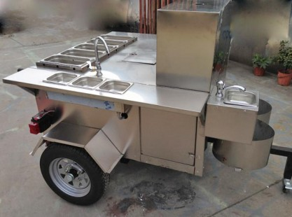 Food Trailer : Hot Dog Cart