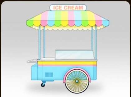 Ice Cream Cart:Gelato