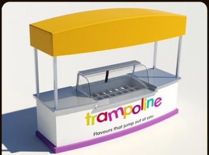 Ice Cream Cart: Gelato - Trampoline 1