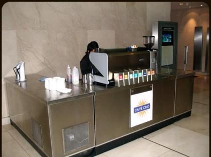 Kiosk : Hilton Hotel 1