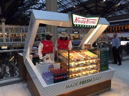 Kiosk : Krsipy Kreme Donuts
