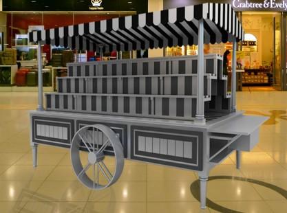 Merchandising Cart