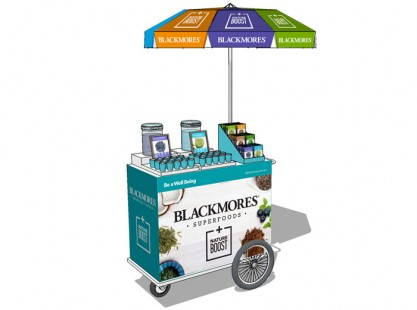 Merchandising Cart - Blackmores