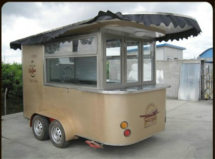 Mojo Coffee Trailer