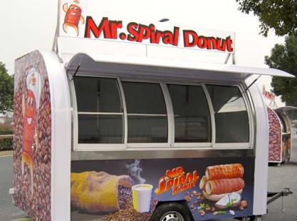 Mr Spiral Donut Trailer