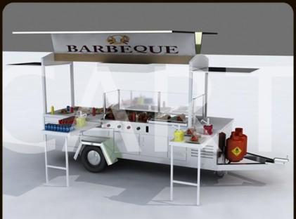 Trailer: BBQ/Rear