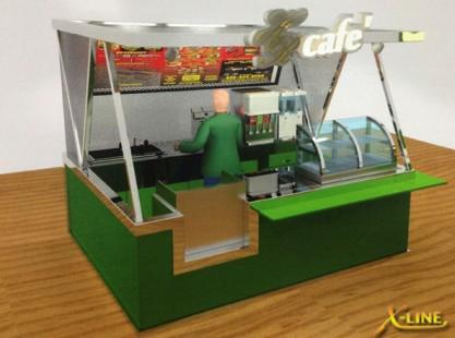 X-Line : Kiosk Cafe