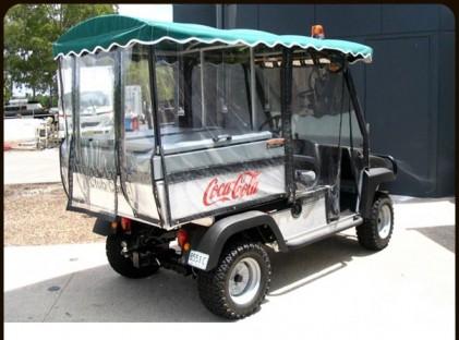 Driver : Golf Cart /4x4 Bi-Centennial Park