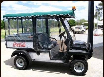 Driver : Golf Cart /4x4 Bi-Centennial Park 1