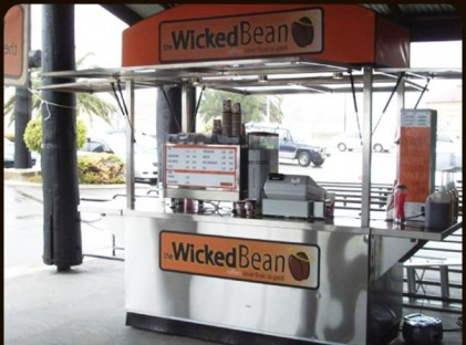 Medium Coffee Cart : Wicked Bean