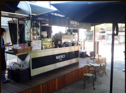 Large Coffee Cart : Merci Oxford Street