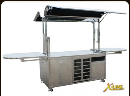 Medium Coffee Cart : X-Line Jazz (back)