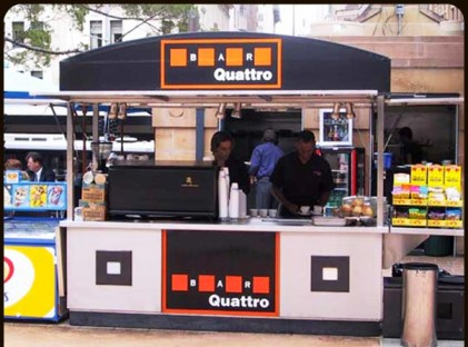 Large Coffee Cart : Quattro Bar