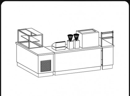 Coffee Kiosk : Hilton Hotel 3