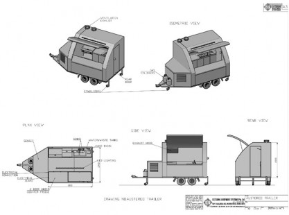 Austereo Trailer Specifications