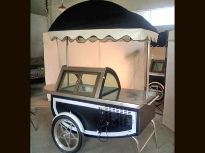Gelato Cart D 6 Tray