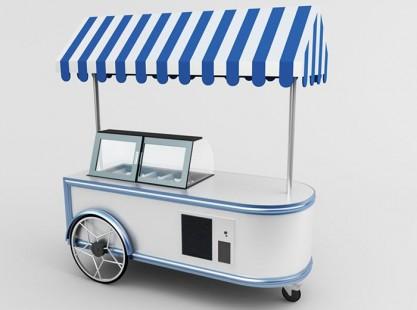 Gelato Cart Model B