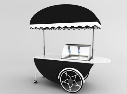 Gelato Cart Model D