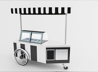 Gelato Cart Model F
