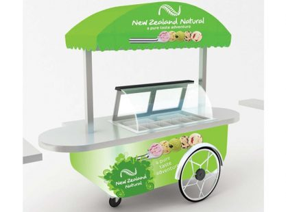Gelato Cart : New Zealand Natural