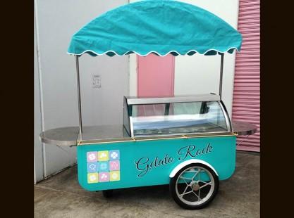 'Gelato Rock' Gelato Cart