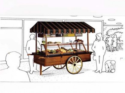 Merchandising Cart : 2