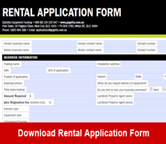 GoGetta Rental Application Form