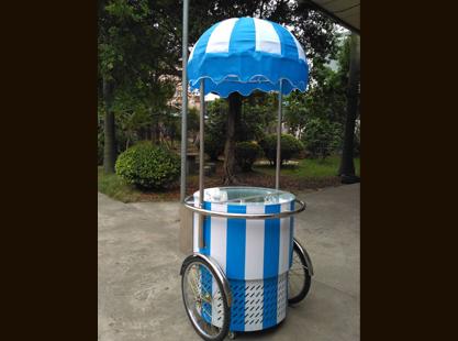 Circular Gelato Cart