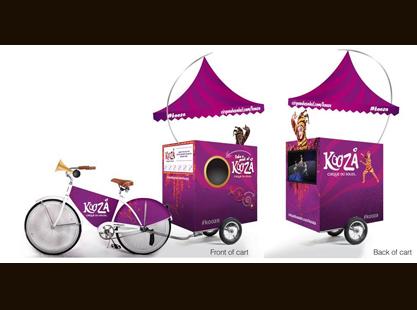 Merchandising Bikes
