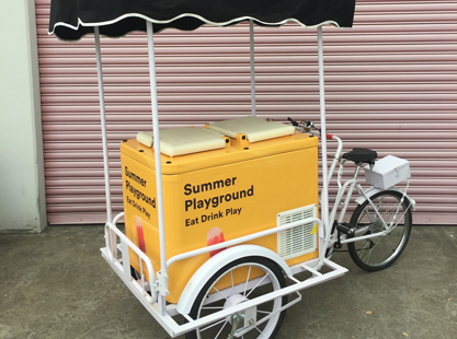 Eutectic/Popsicle Bike