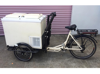 Eutectic Freezer/Electric Bike