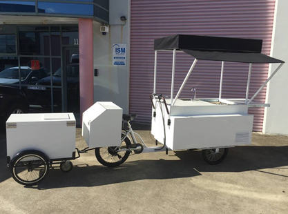 Coffee Bike With Trailer