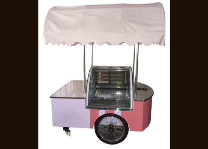 Popsicle Cart With Sink