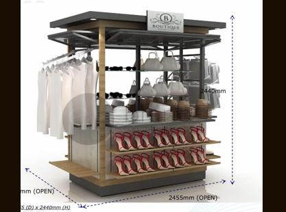 Boutique Kiosk