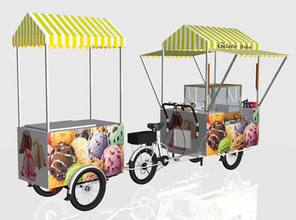 GELATO BIKE/STORAGE TROLLEY