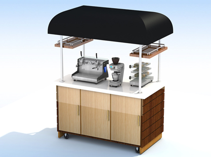 Coffee Trolley/Canopy