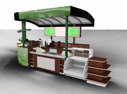 Lime Coffee Kiosk