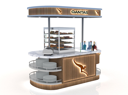 QANTAS FOOD CART