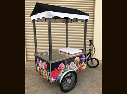 ICE CREAM BIKE/SINK