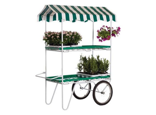 2 Tier Flower Cart