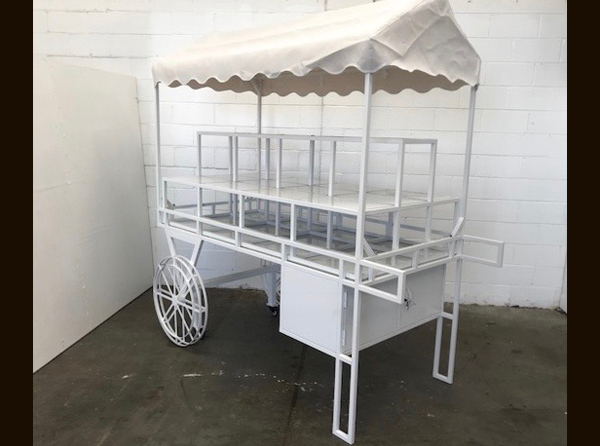 Flower Cart 1500mm 2 Tier