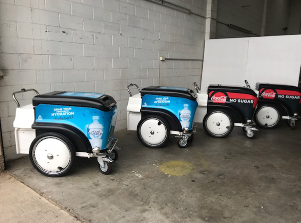 A1 Insulated Push Carts