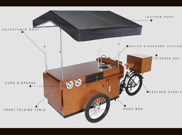 Medium Coffee Bike