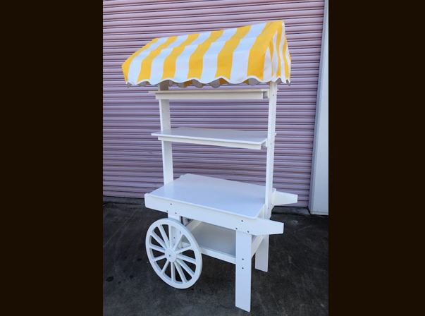 1200 Yellow/White canopy