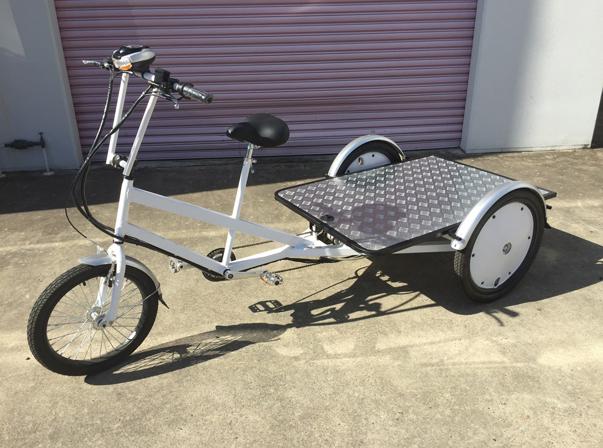 Flat Rear Bike Battery $3000 + GST