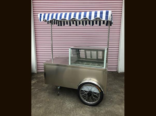 Square 6 Tray Gelato Cart $8000 + GST