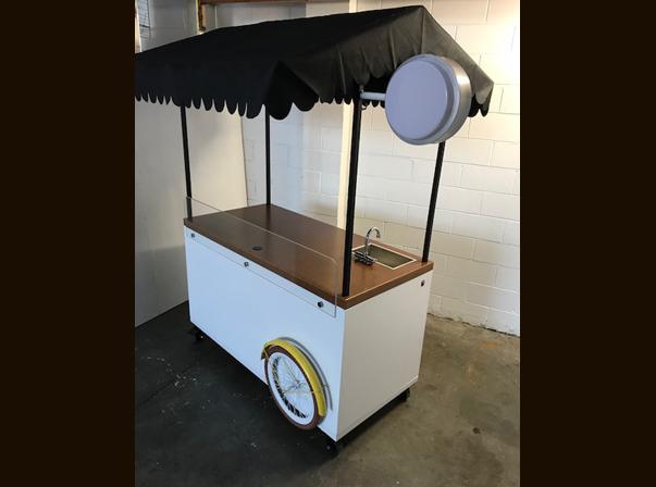 Timber Coffee Cart/Timber Top